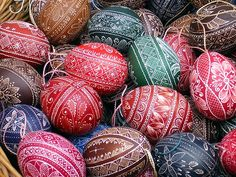 hungarian easter eggs by imolaphoto, via Flickr