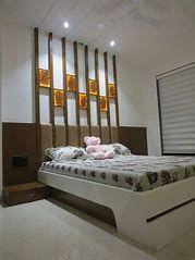 Bed back design, simple bed designs, bed designs with storage, bedroom bed design