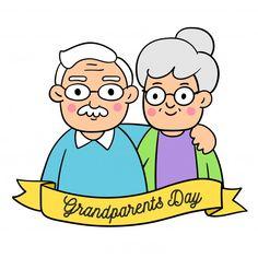 School Decorations, Grandparents Day, Vector Freepik, Autumn Art, Vector Background, Art Activities, Arts And Crafts, Clip Art, Cartoon
