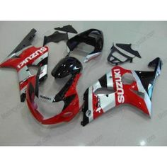 Suzuki GSX-R 1000 2000-2002 K1 K2 Injection ABS Fairing - Others - Red/Silver/Black | $639.00