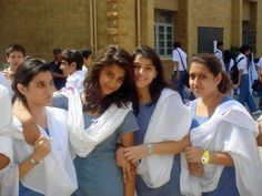 Beautiful Indian School Girls In Uniform Photos