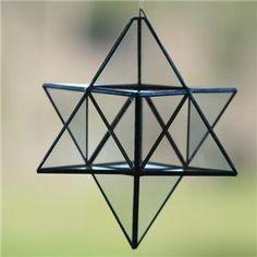 Merkaba de Cristal Geometría Sagrada