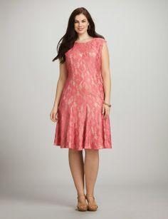 Excelentes vestidos de encaje para gorditas   Colección 2014