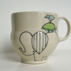 elephant tower mug