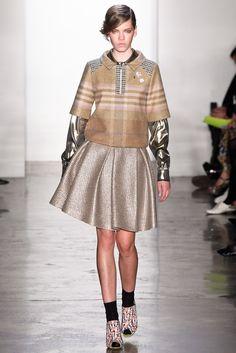 Suno Fall 2012 Ready-to-Wear Fashion Show - Valerija Sestic