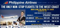 Travel News Philippines: Philippine Airlines to Use Boeing 777-300ER Aircraft for its Flights to the United States