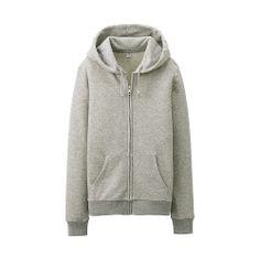 Sweat Full-Zip Hoodie (Long Sleeve)