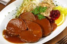 Rehragout Rezept | GuteKueche.at Baked Shrimp Recipes, Shrimp Recipes For Dinner, Foil Packets, Mashed Potatoes, Easy Meals, Beef, Baking, Ethnic Recipes, Food