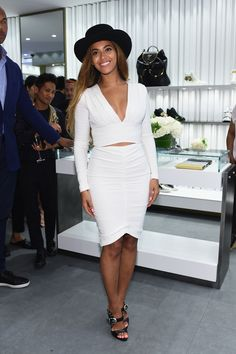 Beyonce Knowles @ Giuseppe Zanotti Design Beverly Hills Store Re-Opening on April 14, 2015