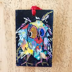 Merry Morepork/Owl Decoration Blue (4) Nativity, Fun Facts, Gift Wrapping, Owl, Merry, Sparkle, Decoration, Christmas, Gifts