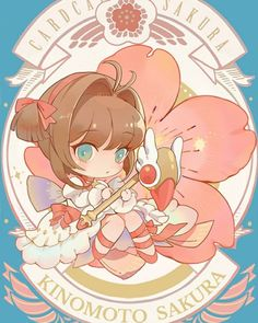 Anime Chibi, Manga Anime, Kawaii Chibi, Anime Kawaii, Anime Art, Cardcaptor Sakura, Yue Sakura, Sakura Card Captor, Japon Illustration