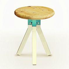« El Tianguis stool », Christian Vivanco