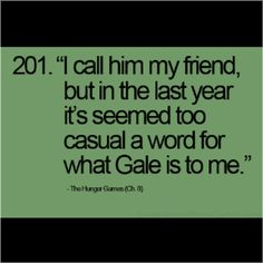 Why am I like, the only one who likes Gale most??