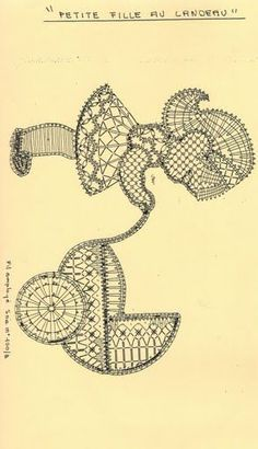renda de bilros / bobbin lace Bonecos / Dolls Bruges Lace, Bobbin Lacemaking, Bobbin Lace Patterns, Thread Art, Point Lace, Needle Lace, Lace Embroidery, Lace Making, Filet Crochet
