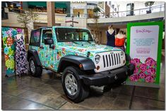 A Lilly Pulitzer Jeep....ahhhh! So great!