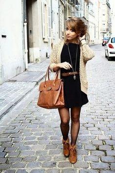 Ideas, inspiración, Moda: Outfits con chaquetas de lana o punto