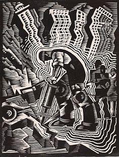 WPA artist Charles Turzak.