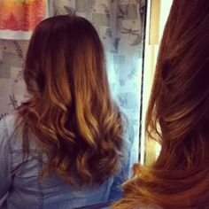 My hair :) Sunny ombre highlights to look sun-kissed and new for me :)