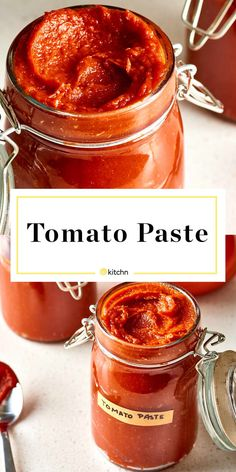 How To Make Easy Tomato Paste - Homemade Tomato Paste. Great for canning if you need ideas for preserving tomatoes, but you can also freeze it. Preserving Tomatoes, Canning Tomatoes, Tomato Canning Recipes, Preserving Food, Growing Tomatoes, Tomato Sauce Canning, How To Preserve Tomatoes, Canning Peppers, Canning Vegetables