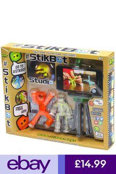 Stikbot Studio Pets-Kids stickbots Stop Motion Animation App Movie Making Toy