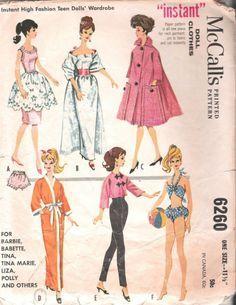 vintage barbie sew free - Google Search