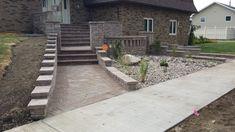 Paver steps/ entrance Entrance, Sidewalk, Entryway, Door Entry, Walkways, Entrance Hall, Pavement, Curb Appeal