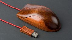 wooden mouse....i love it!
