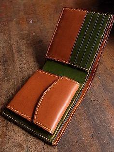 Color block Wallets
