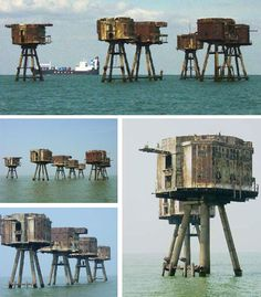 Decommissioned army sea forts in Britain have been everything from criminal hideaways to pirate radio stations