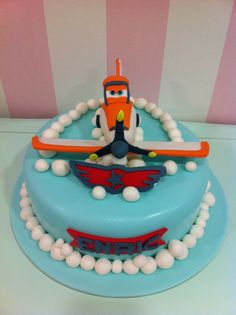 Tarta Aviones - Planes Cake