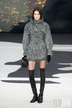 #Chanel Fall/Winter 2013-2014 RTW FW  #Trend Skirt Suit