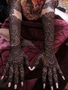 Bridal mehandi