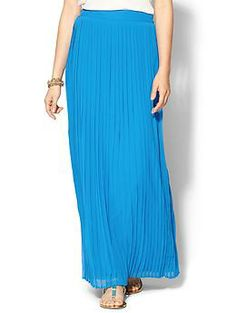 Sabine Pleated Maxi Skirt | Piperlime-----http://wheretoget.it/link/548381/open?