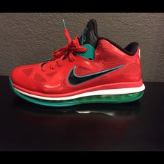 uk availability c825e 12d94 Nike Shoes   Lebron 9 Low Liverpool Size 8.5   Color  Red   Size  8.5