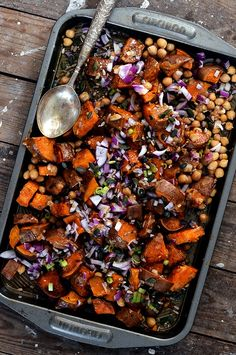 Picnic season is here! Simply roast your potatoes, chop your onions and stir together your dressing. Simple.