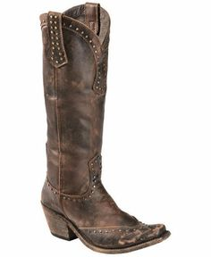 Liberty Black Toscano Studded Cowgirl Boots | eBay (245 buy it now) new, 13.75 shipping, not sure with tax