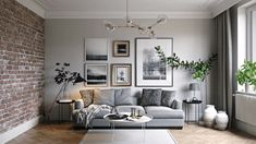 Modern Interior Design: 10 Best Tips for Creating Beautiful Interiors - Fall in. - Modern Interior Design: 10 Best Tips for Creating Beautiful Interiors – Fall in love with the sim - Living Room Grey, Interior Design Living Room, Living Room Designs, Interior Paint, Interior Design For Apartments, Living Room Decor Simple, Monochromatic Living Room, Artwork For Living Room, Elegant Living Room