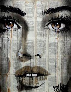 "Saatchi Art Artist Loui Jover; Drawing, ""maple"" #art"