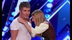 Simon Cowell Shows Amazing HEART Steps In To Save Dog Trainer   Americas Got Talent 2017