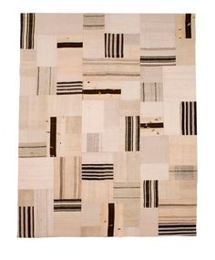 Fascinating. A traditional patchwork rug, so reminiscent of the Gees Bend quilts. loomrugs.com.au