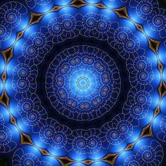 Mandala for the Fifth Chakra