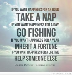 If You Want Happiness... #service