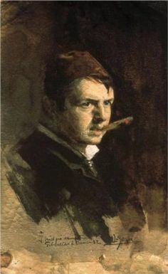 Self-portrait - Anders Zorn
