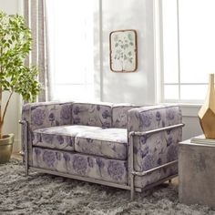 Shop for Industrial Blooms Pipe Loveseat Champagne. Get free shipping at Overstock.com - Your Online Furniture Outlet Store! Get 5% in rewards with Club O! - 80005479