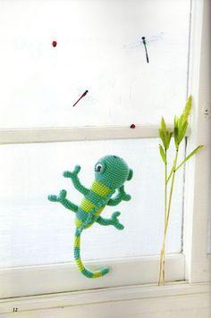 Chameleon, Free pattern