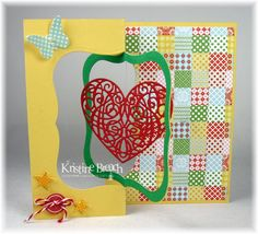 Tutorial - Floating Heart Swing Card - The Crafting Secretary