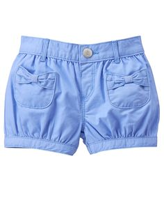 Toddler Girls Ocean Blue Bubble Shorts by Gymboree