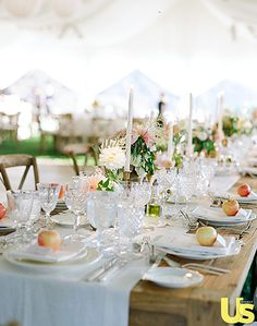 Though they had originally planned for a smaller, destination wedding, Lauren Conrad and William Tell soon realized they would need a place and space to hold a larger group.