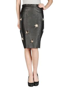 Acne Women - Leatherwear - Leather skirt Acne on YOOX