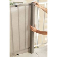 Privacy canvases for balconies Grey